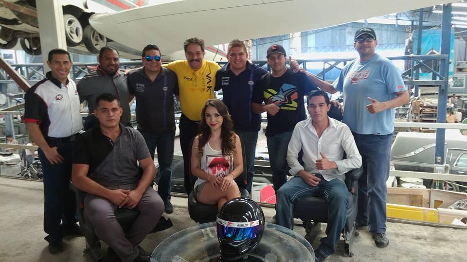Desde el taller de mexicanicos all access racing team - El taller de pinero ...