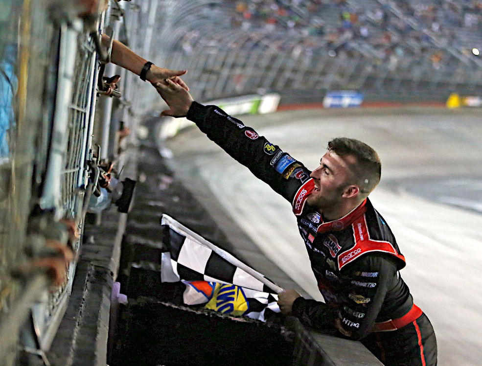 19 August 2016--Austin Dillon wins the Food City 300 at the Bristol Motor Speedway in Bristol, TN.(HHP Photo/Alan Marler)